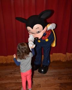 Visiting Mickey